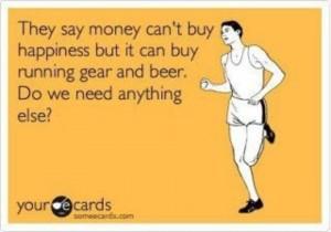 money running beer
